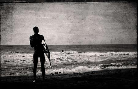 surfing waves: surfing
