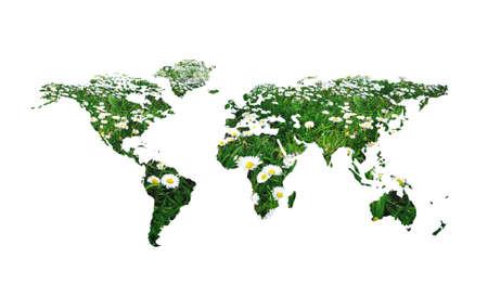 concepto de mundo - el cuidado del medio ambiente Foto de archivo - 4711576