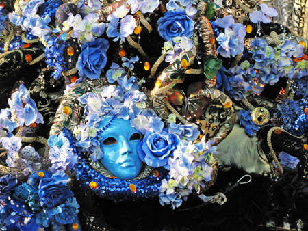 Venice, Italy - Februaryt 5, 2010 - Classical Venetian Mask in the town for the carnival Stock Photo - 6889313
