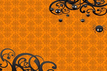 Happy Hallowen card Stock Photo - 7967669