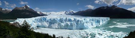 perito: perito moreno glacier and icebergs in patagonia