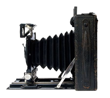 old vintage black camera photo