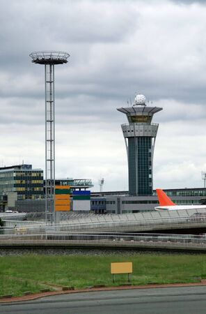 control tower: control tower in international airport
