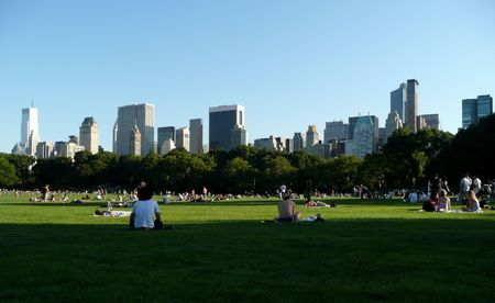 Central park in summer Stock Photo - 5784852