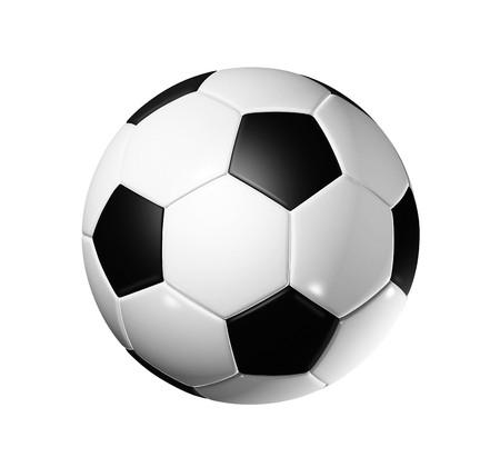 3D soccer ball - world football cup 2010 photo