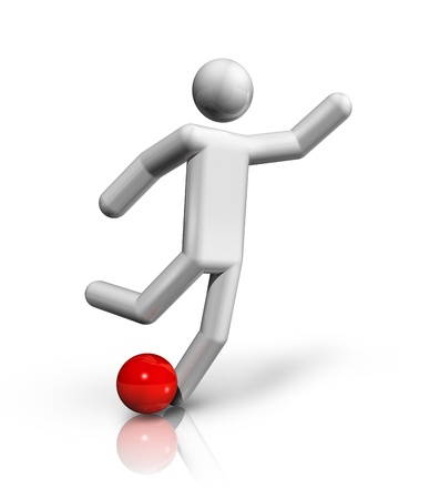 deportes olimpicos: tres dimensiones de f�tbol, ??f�tbol s�mbolo