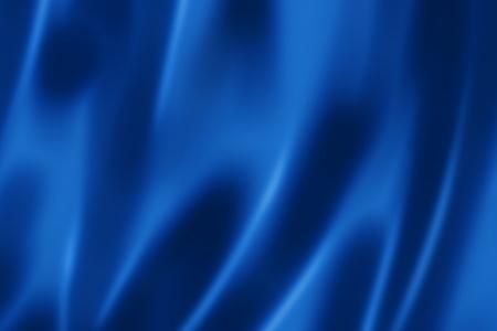 Diep blauw satijn, zijde, textuur achtergrond