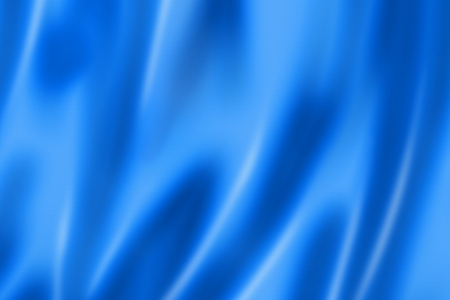 Blue satin, silk, texture background Stock fotó
