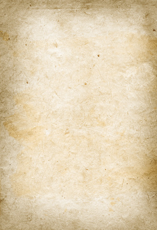 recycled paper: Old parchment paper texture