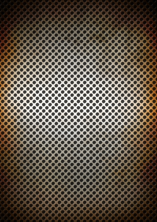 Silver rusty metal grid background texture wallpaper photo