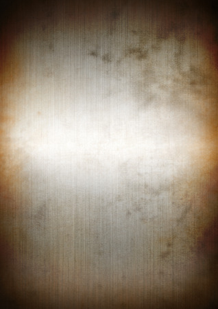 shiny metal background: Silver rusty brushed metal background texture wallpaper Stock Photo