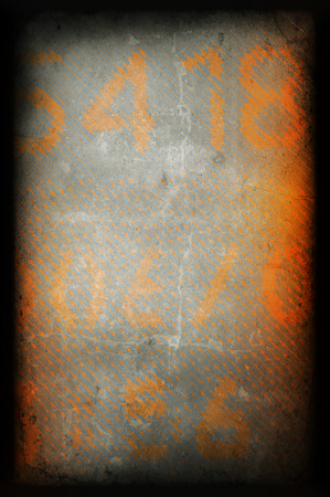 Old printed wall texture, creative template background photo