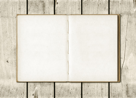 sketch book: Blackboard on a old white wood wall background texture