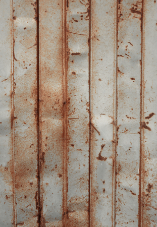 rusty: old rusty sheet metal wall, background wallpaper