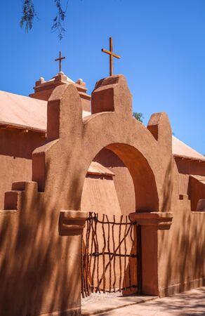 Old church in San Pedro de Atacama, Chile Stock Photo
