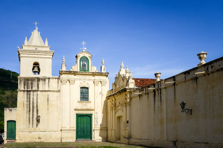 San Bernardo convent, Salta, Argentina. Blue Sky background Stock Photo