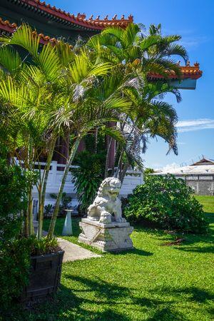 Chinese temple Kanti de Mamao, in Papeete on Tahiti island, french Polynesia