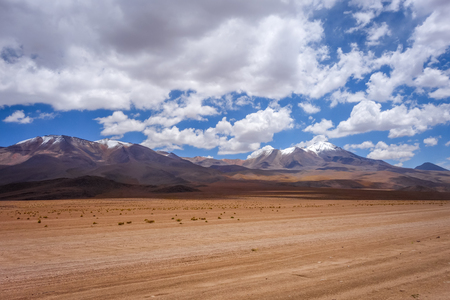 avaroa: Altiplano mountains in sud Lipez reserva Eduardo Avaroa, Bolivia Stock Photo