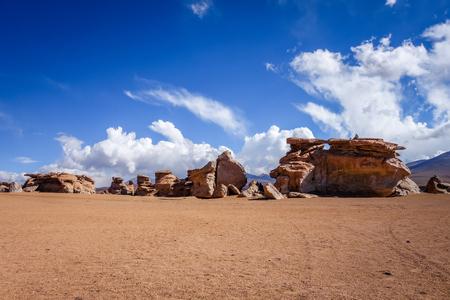 Siloli desert in sud Lipez reserva Eduardo Avaroa, Bolivia
