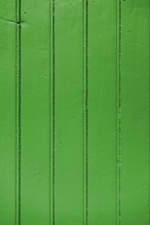 Old wood board painted green background texture Stock Photo