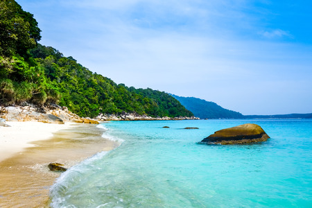 Turtle Sanctuary Beach, Perhentian Islands, Terengganu, Malaysia 写真素材
