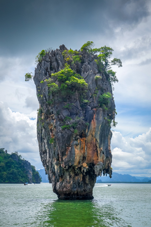 Ko tapu rock in James Bond  island, Phang Nga Bay, Thailand