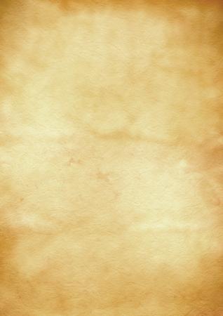 Alte braune Pergamentpapier Textur Hintergrund. Vintage-Tapete Standard-Bild