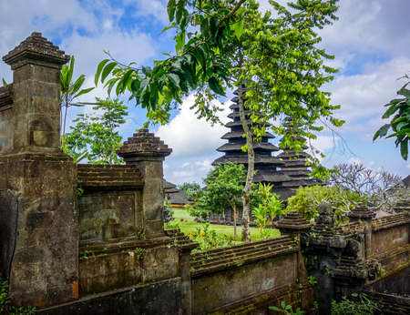 Pura Besakih temple complex on mount Agung, Bali, Indonesia