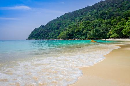 Turtle Sanctuary Beach, Perhentian Islands, Terengganu, Malaysia Stockfoto
