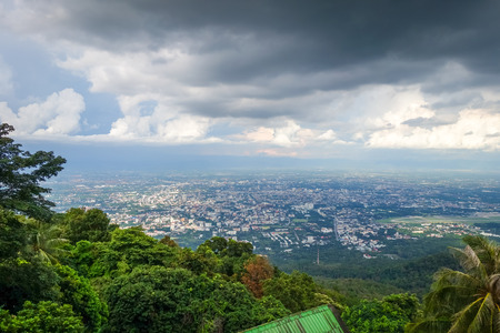 Chiang Mai city, mountains and jungle landscape, Thailand Stock fotó