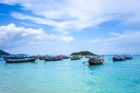 Sunrise beach, tropical paradise in Koh Lipe, Thailand Stock fotó