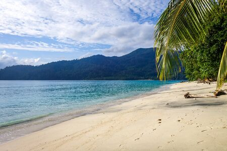 Sunset beach paradise in Koh Lipe, Thailand