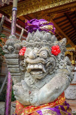 Gard statue in Puri Saren Palace, Ubud, Bali, Indonesia Stock fotó