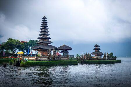 Pura Ulun Danu Bratan temple in bedugul, Bali, Indonesia