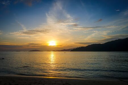 Perfect tropical beach at sunset in Koh Lipe, Thailand