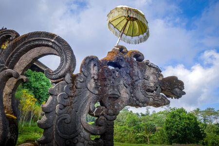 Statue in Pura Besakih temple, Mount Agung, Bali, Indonesia Stock fotó