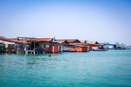 George Town Chew jetty in Penang, Malaysia