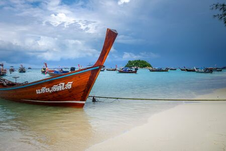Sunrise beach paradise in Koh Lipe, Thailand Stock fotó