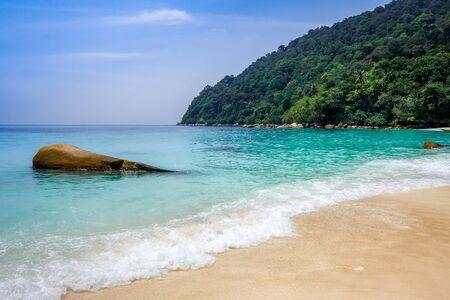 Turtle Sanctuary Beach, Perhentian Islands, Terengganu, Malaysia Stock fotó
