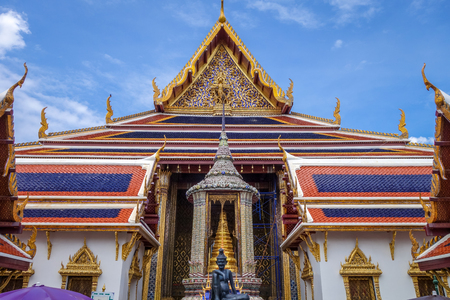 Grand Palace complex landmark in Bangkok, Thailand Sajtókép