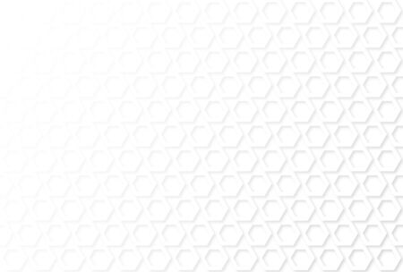 Abstract white clean geometric pattern background illustration