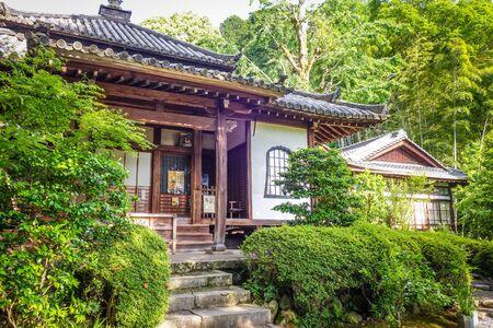 Building in Chion-in temple garden, Kyoto, Japan Stock fotó
