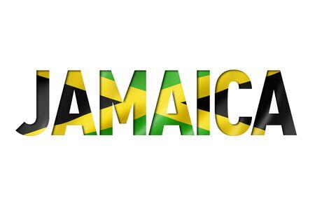 jamaican flag text font. jamaica symbol background