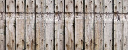 Old rough wood board background banner texture                                Stockfoto