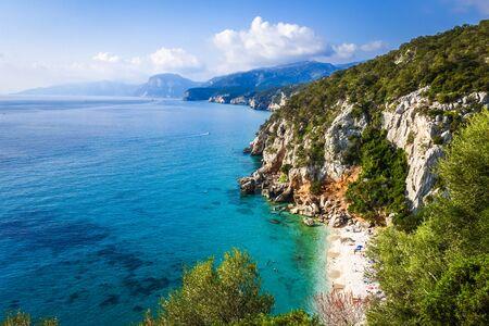 Cala Fuili beach in the Golf of Orosei, Sardinia, Italy
