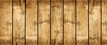 Rough wood board. Banner background texture Banque d'images