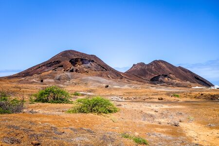 Volcano on Sao Vicente Island, Cape Verde, Africa