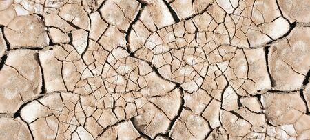 dry mud desert background texture. Global Warming concept banner