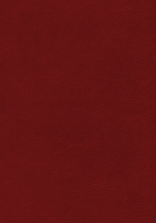 Dark red leather texture background. Natural material pattern.