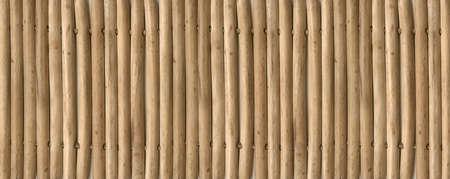 Asian light bamboo mat texture background banner